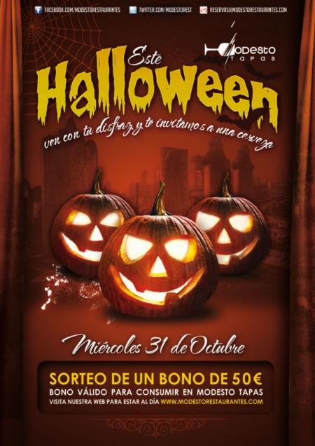 Halloween en Modesto Tapas Sevilla