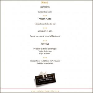 Modesto en las XI Jornadas Gastronómicas de los Hoteles de Sevilla y Provincia. El Toro de Lidia