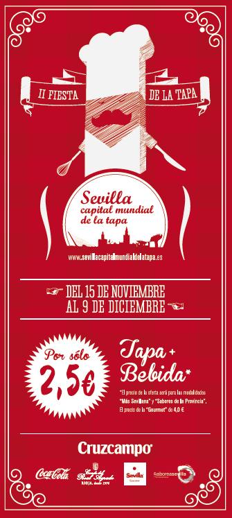 """II Certamen """"Sevilla, Capital Mundial de la Tapa"""""""